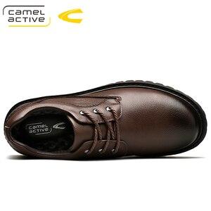 Image 5 - Camel Active ใหม่ยี่ห้อ Mens Oxfords หนังอย่างเป็นทางการรองเท้าสำหรับรองเท้ารอบ Toe Vintage ผู้ชายสบายๆ zapatos