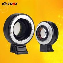 Viltrox фокусное редуктор speed booster адаптер объектива turbo w/кольцо диафрагмы для nikon f объектив для sony a7 a7r a7sii a6300 a6500 NEX-7