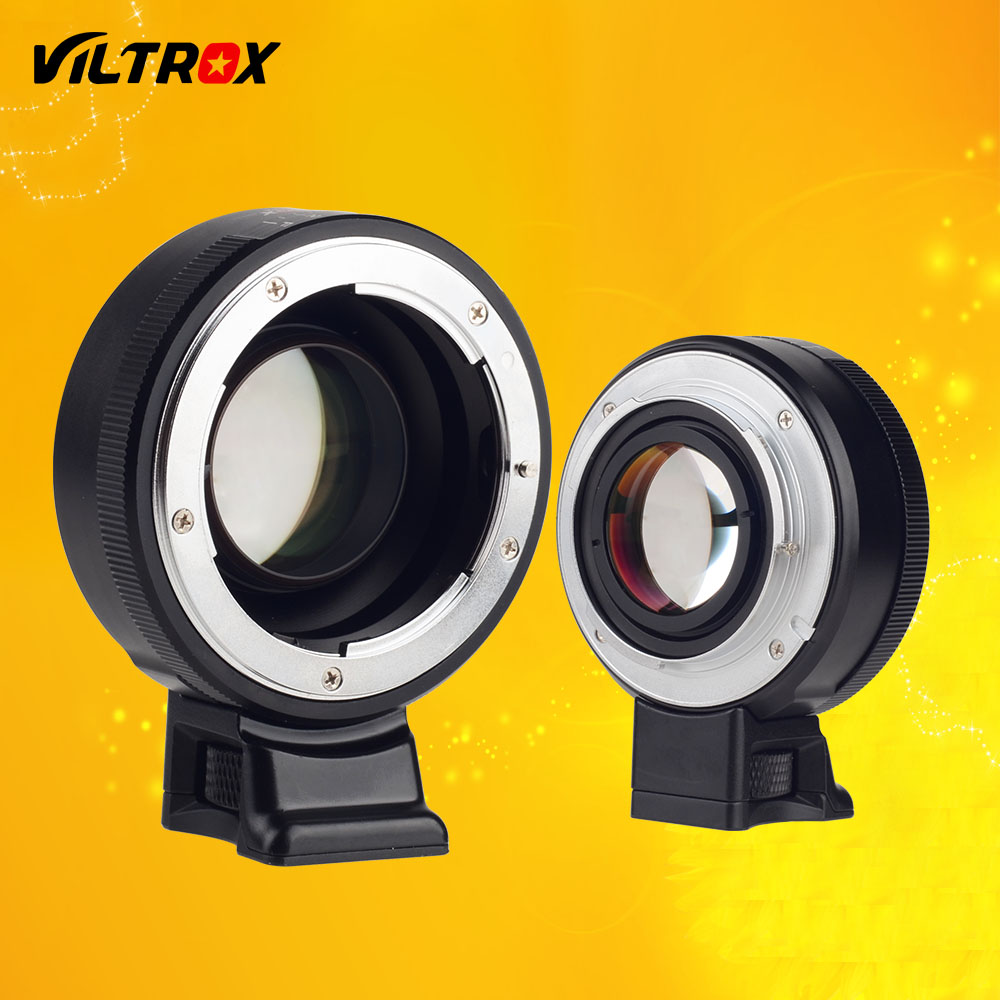 Viltrox focal reductor Speed Booster Adaptadores para objetivos Turbo W/anillo de apertura para Nikon F lente a Sony A7 a7r a7sii a6300 a6500 nex-7