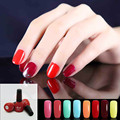 5pcs 205 Colors Nail Art Soak Off Gel Polish UV LED Lamp Glitter Decoration 8ml