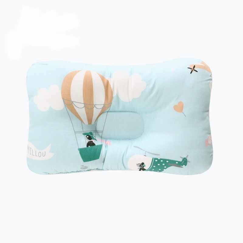 Подушка для младенца, подушка для защиты головы, детское постельное белье, Младенческая подушка для кормления малыша, позиционер для сна против скатывания - Цвет: Белый