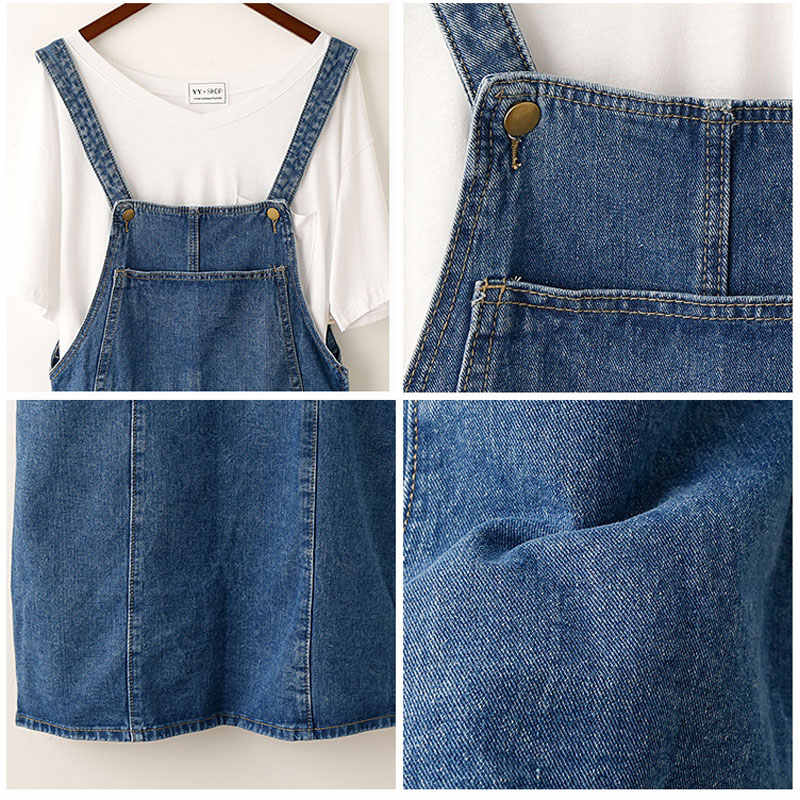 618100f5b5a Detail Feedback Questions about Apperloth Casual Pockets Denim Midi ...