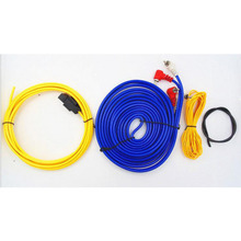 Car Audio Wire Wiring Amplifier Subwoofer Speaker Installation Wires Cables Kit 60W 4m length Professional