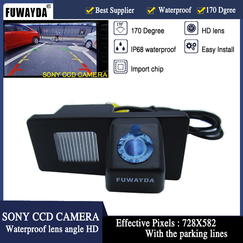 FUWAYDA SONY CCD Chip Sensor CAR REAR VIEW REVERSE BACKUP PARKING Safety CAMERA FOR Ssangyong Rexton / Ssang Yong Kyron