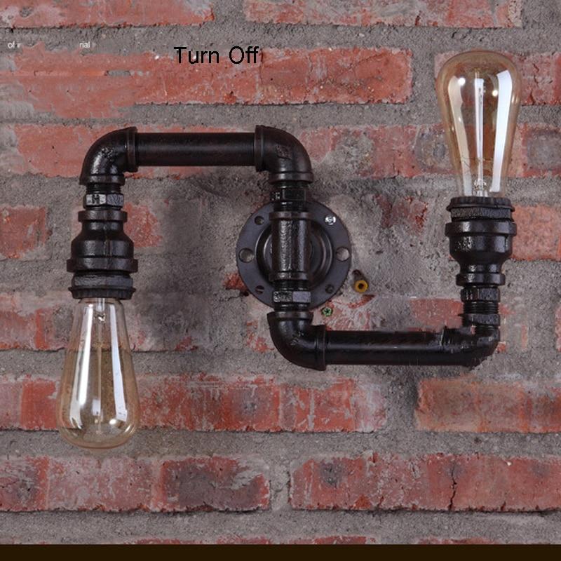 americano lampadas criativas retro loft luzes 02