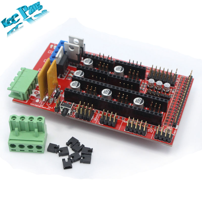 10 Pcs/lot Free Shipping !! Ramps 1.4 3d Printer Control Panel Control