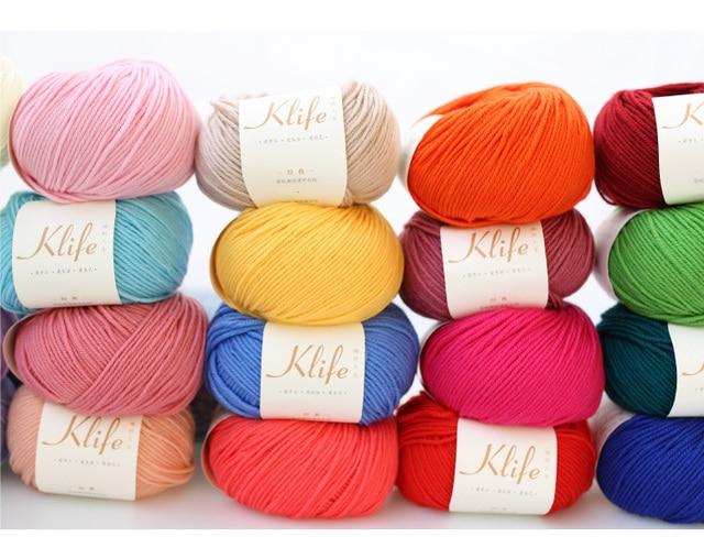 Free Shipping 40g Ball 100 Australian Merino Wool Yarn Hand