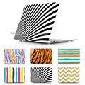 Уникальный зебра Чехол для ноутбука Чехол для Apple Mac book Pro Retina 13 15 Macbook Air 11 13.3 С прозрачным крышка