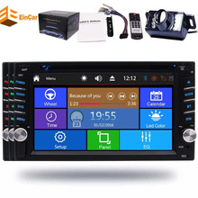 2 Din 6.2″ Car Radio Stereo Autoradio Bluetooth FM AM RDS Receiver Wireless Reverse Camera double Car DVD USB SD Aux Steering