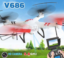 (In stock) Original WLtoys V686G (FPV Version) 4CH drone With 2MP HD Camera RTF MODE 1 and MODE 2 are in stock