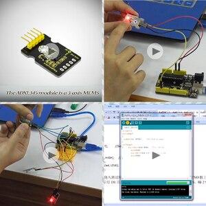 Image 4 - Nowe opakowanie! Keyestudio37 w 1 zestaw do arduino nauki programowania (37 sztuk czujniki) + 37 projektów + PDF + wideo