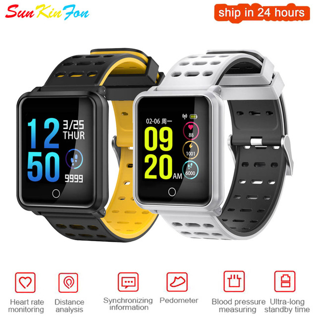 US $26 99 |Aliexpress com : Buy For Huawei Honor 10 V10 9 8 9i Play Super  Definition Large Screen Sports Smart Watch Heart Rate Blood Pressure  Monitor