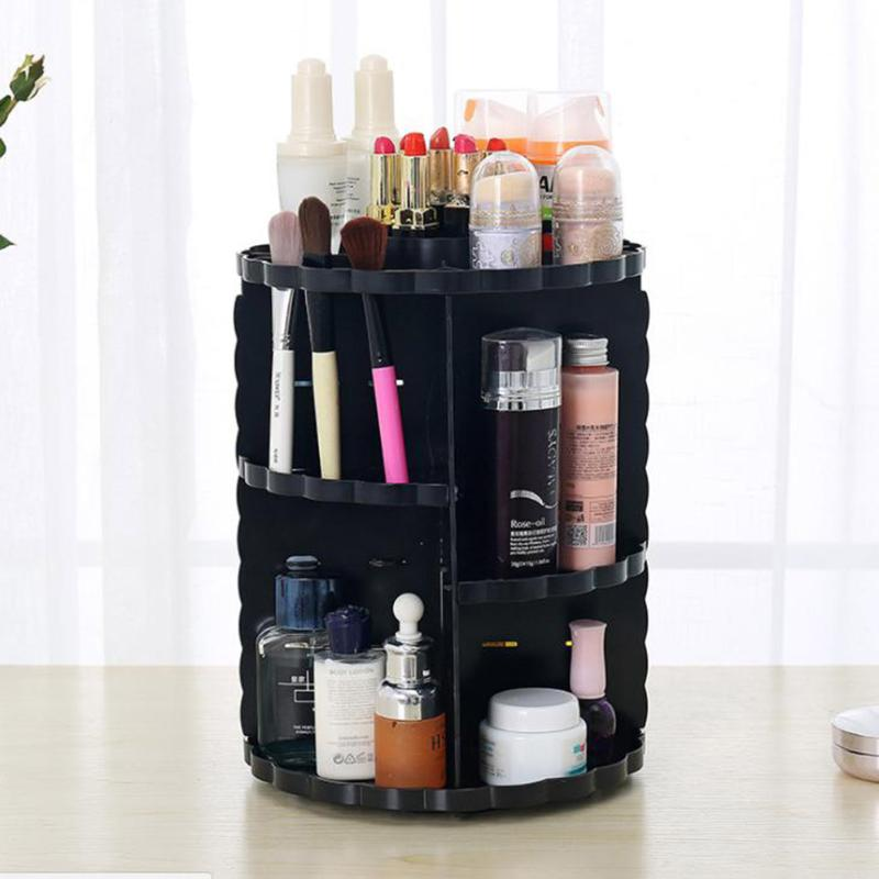 Makeup Tool Brushes Storage Container Box Skincare Stand Holder Case Cosmetic Organizer Jewelry Organizer цена и фото