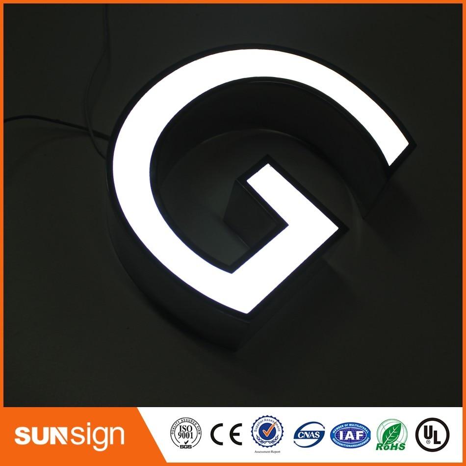 Sign Manufacturer Advertising LED Channel Letter Sign Making