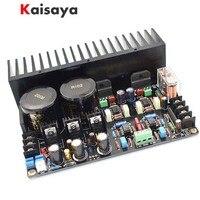 quality LM3886 JRC5534DD OP07 Max Output Power 2 x 68W HIFI music AUDIO diy heatsink Amplifier Board free shipping B4 001