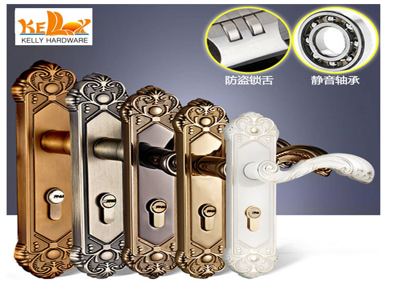 Aliexpress Com European Past Door Locks Set Bedroom Handle Interior Gold  Lock Accessory From Reliable. Bedroom Locks  universalcouncil info