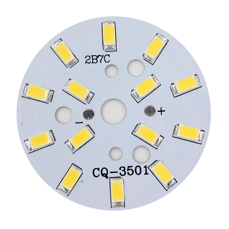 Led Bulbs & Tubes Nice 10pcs 7w 5730 Brightness Smd Light Board Led Lamp Panel For Led Bulbs Light Last Style
