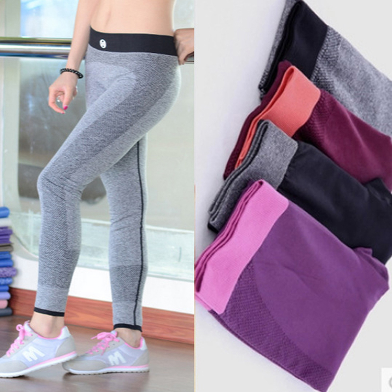 2017 New Women's Leggings High Elasticity Skinny Fitness Legging Quick-Dry Absorb Sweat Ladies Leggings Workout Legging Pants