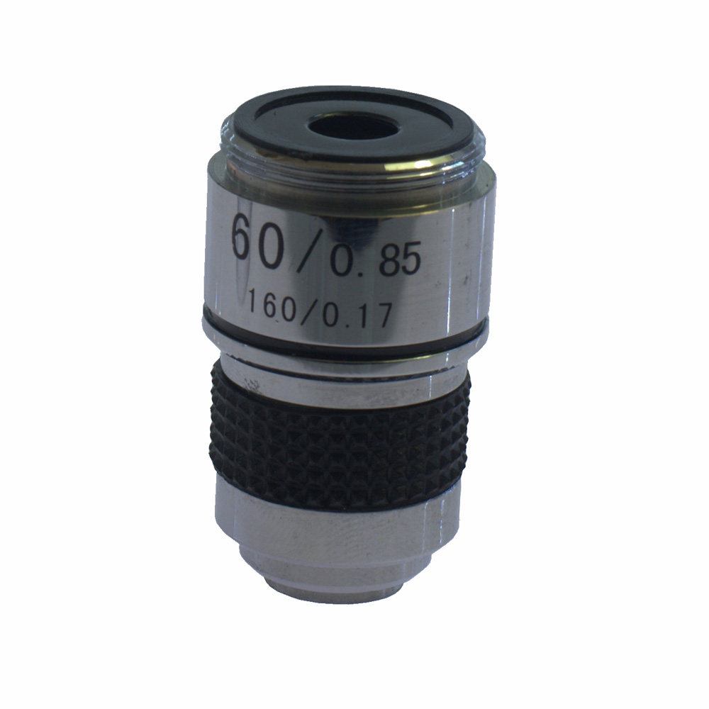 60X 185 Achromatic Objective Lens Biological Microscope Apochromates 1Pcs  цены