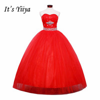 HOT Free Shipping New 2014 Cheap Fashionable Bridal Wedding Dress Red Wedding Dresses Gown HS045