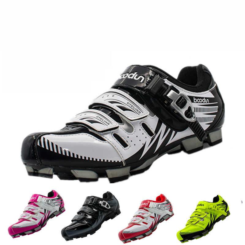 Обувь для велоспорта Мужская гоночная команда mtb обувь горный велосипед кроссовки профессиональные самоблокирующиеся атлетические trudge обувь дышащий нейлон