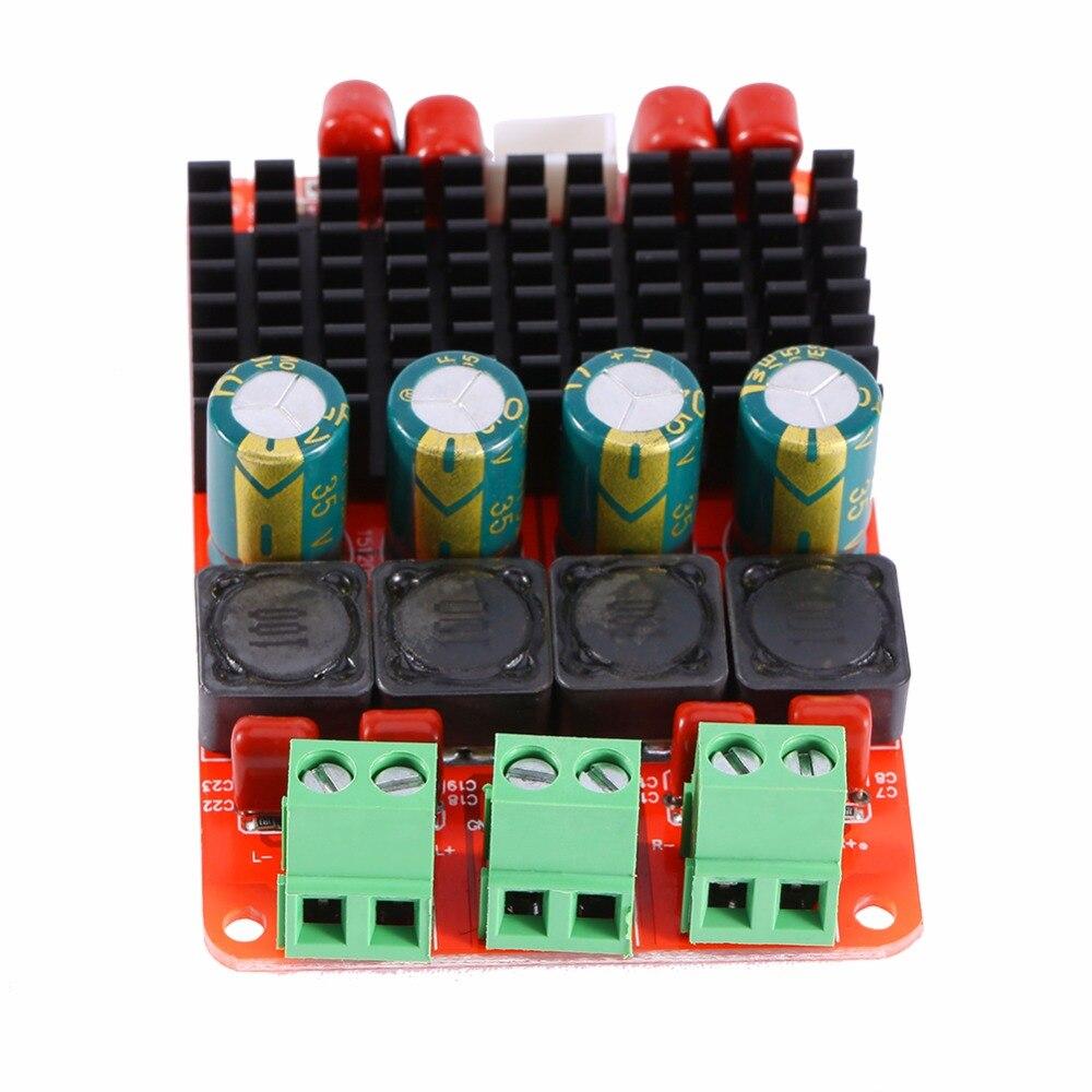 TPA3116 50 Вт * 2 аудио Усилители домашние доска pbtl один/двухканальный Мощность Усилители домашние DC 12 В 24 В AMP
