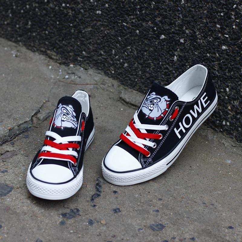Chaussures Grande T Femmes Taille Top De Toile Personnalisé Tenis Espadrilles Imprimé Filles Étudiants Course Conception Graffiti dg140h CoexBQrdW