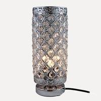 Crystal Table Lamp LED Desk Lamp Study Bedside Reading Light Bedroom Living Room Decoration E27 Bulb Crystal Night Light