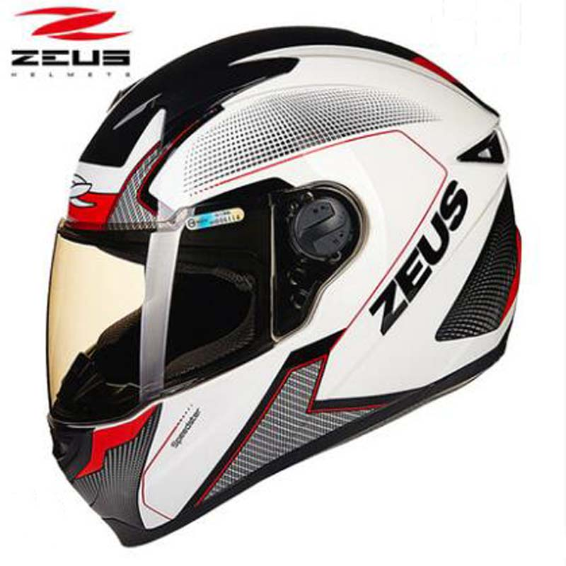 New Taiwan Zeus Dot Certification Full Face Motorcycle Helmets
