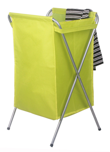 Skládací oxford tkanina prádlo koš prádelní pytel prádla překážka s zahušťovací ocelové trubky pro špinavé oblečení