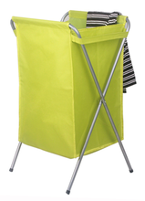 Folding oxford fabric laundry basket laundry bag laundry hamper with thickening steel pipe for dirty clothes