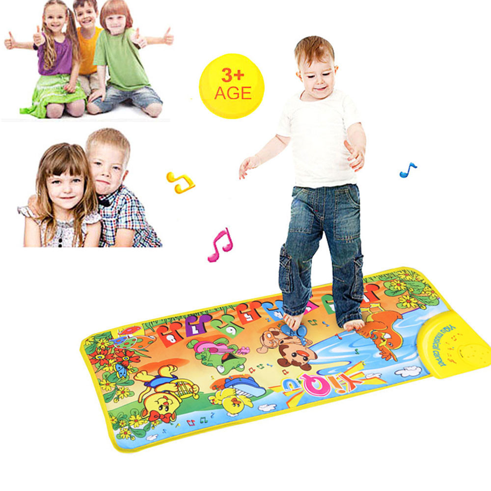 New Play Keyboard Musical Music Singing Gym Carpet Mat Christmas Gift Education Toy Baby Toys & Games Children