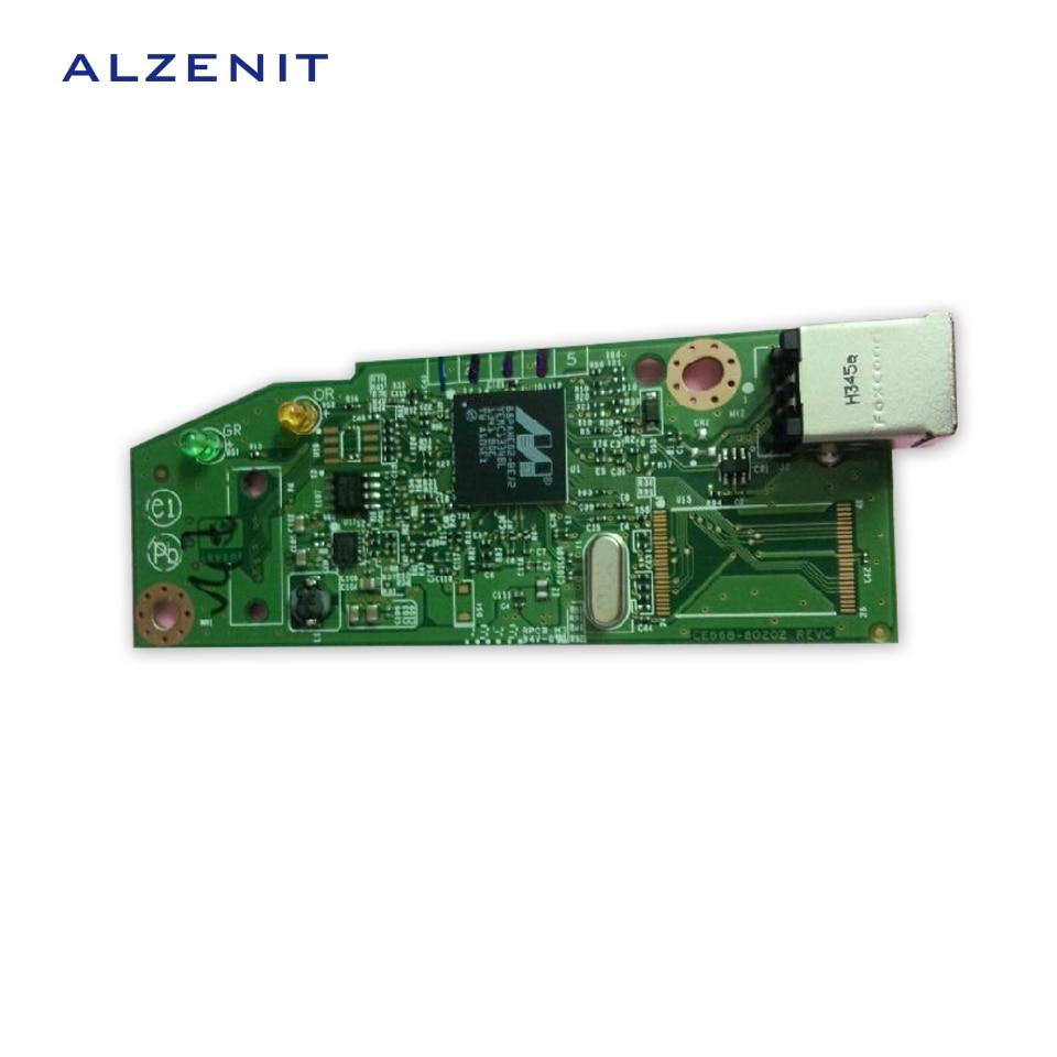 GZLSPART для hp 1102 1102W P1102W оригинальная б/у форматированная плата CE668 60001 RM1 7601 000CN RM1 7601 принтер Запчасти в продаже