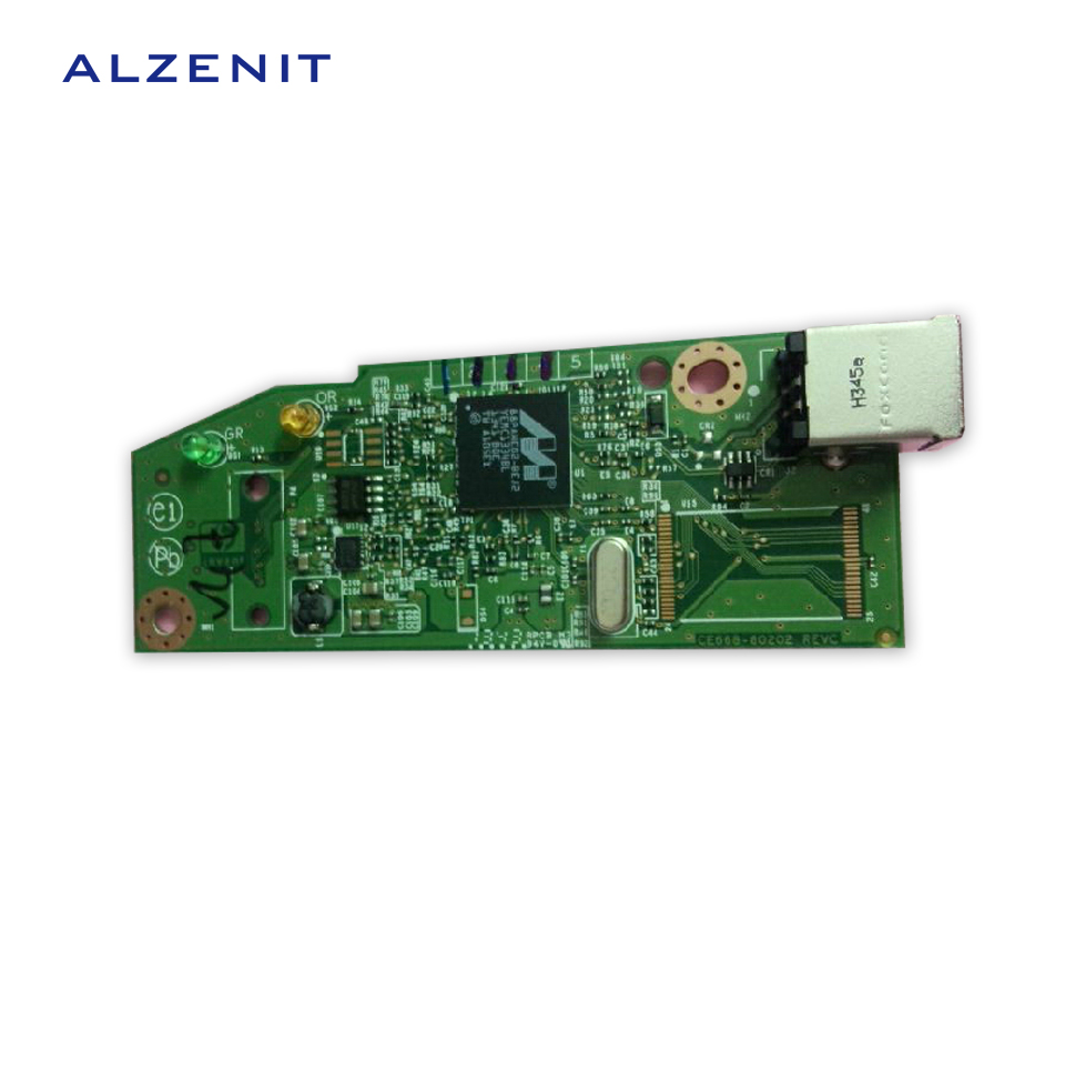 GZLSPART For HP 1102 1102W P1102W Original Used Formatter Board CE668-60001 RM1-7601-000CN RM1-7601 Printer Parts On Sale for hp 1312 mfp 1312mfp original used formatter board cc397 60001 color laser printer parts on sale
