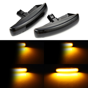 Image 1 - 2 قطعة Led ديناميكية الجانب ماركر بدوره مصباح إشارة متتابعة الوامض ضوء لاند روفر ديسكفري 3 4 fre20162 رينج روفر سبورت