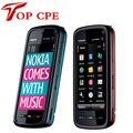 5800 мобильный телефон Оригинальный Nokia 5800 XpressMusic mobile телефон 3.2MP Камера, 3 Г, A-GPS, WiF Русский Польский Поддержка Бесплатная доставка