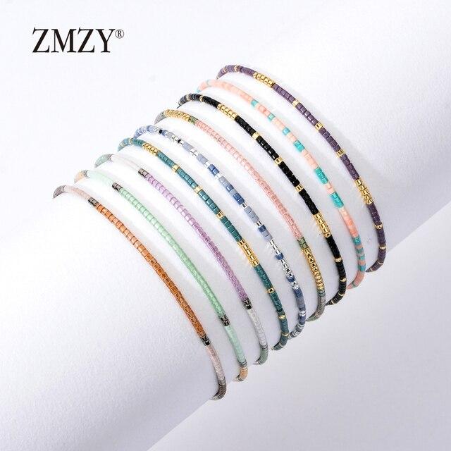 ZMZY Boho Style Miyuki Delica Seed Beads Bracelets for Women Friendship Bracelet Jewelry Colorful Charm Bracelet Femme Handmade 5