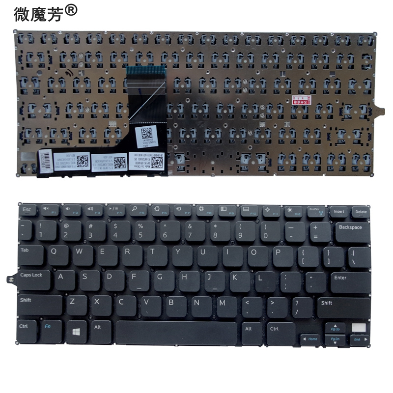 US Keyboard FOR <font><b>DELL</b></font> For Inspiron 11 3000 3147 11 3148 <font><b>P20T</b></font> 3158 7130 laptop US Keyboard image