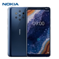 Original Nokia 9 PureView 4G Smartphone 5.99'' Android 9 Pie Snapdragon 845 6GB RAM 128GB ROM 5x12.0MP Rear Camera Mobile Phone