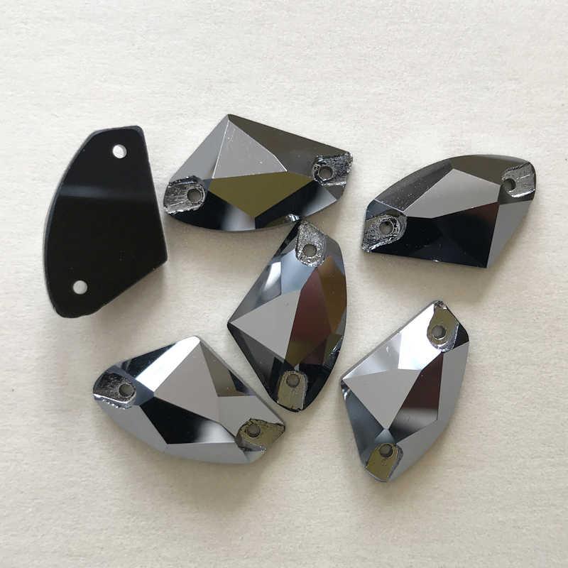 YANRUO 3256 Галактическая шить на кристалл плоской задней горный хрусталь аппликация со стразами Стразы для нашивания для Craft