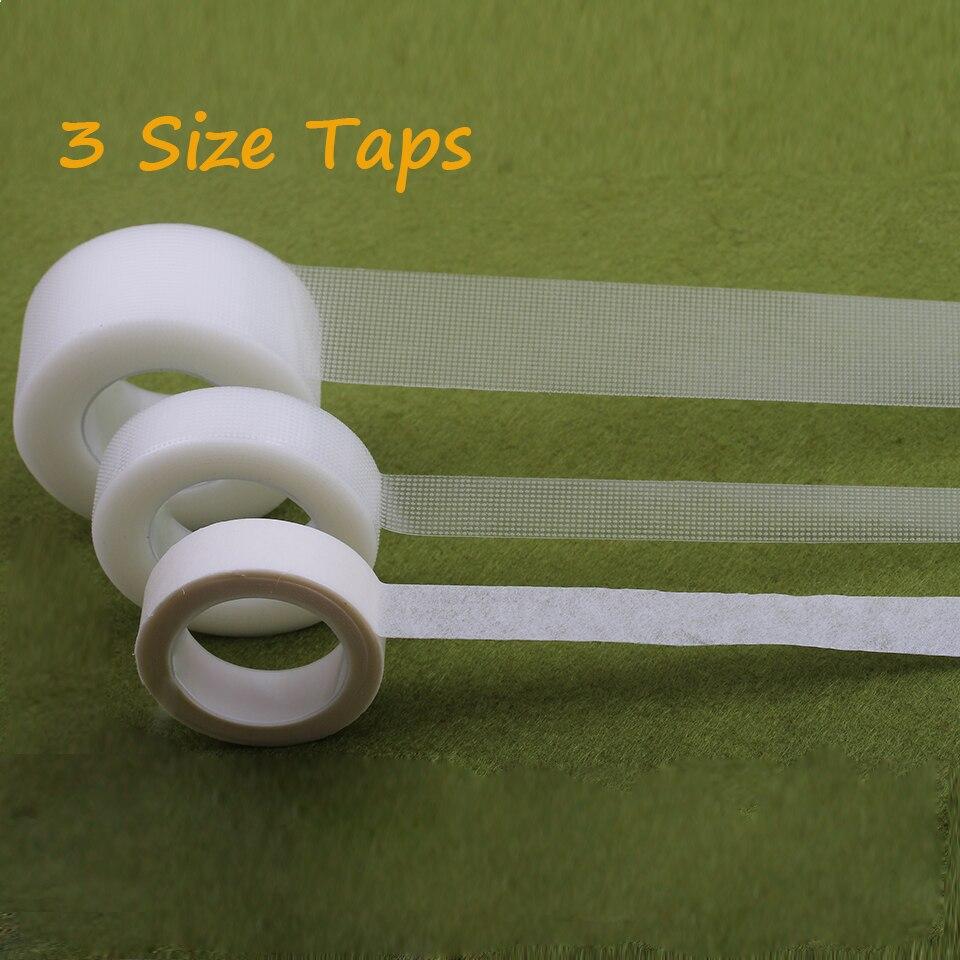 2 Rolls Professional Under Tape False Eyelashes Extension Tools PE&No-Woven Taps Eyelash Extension Supply Micropore Polyethylene
