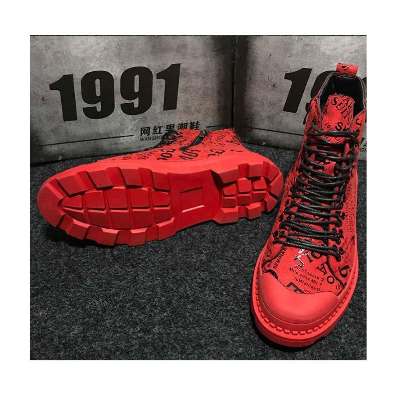 De Touring Chaussures Rue Botas Sécurité Nouveau Rouge Marque Plates Travail Hommes Moto Décontracté 2019 Outillage Au Voyage Luxe Trekking qw6tIBnR