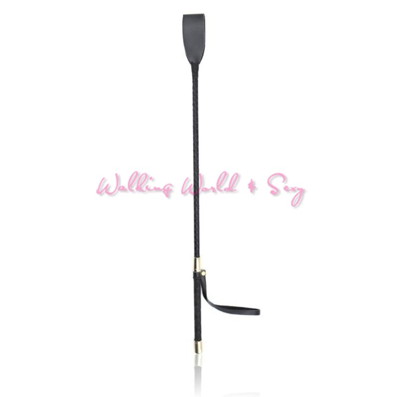 60CM Horse Whip Sex Spanking Knout Pu Leather Whip With Sword Handle Lash Fetish Flogger Adult Sex Products For Couples Women (3)