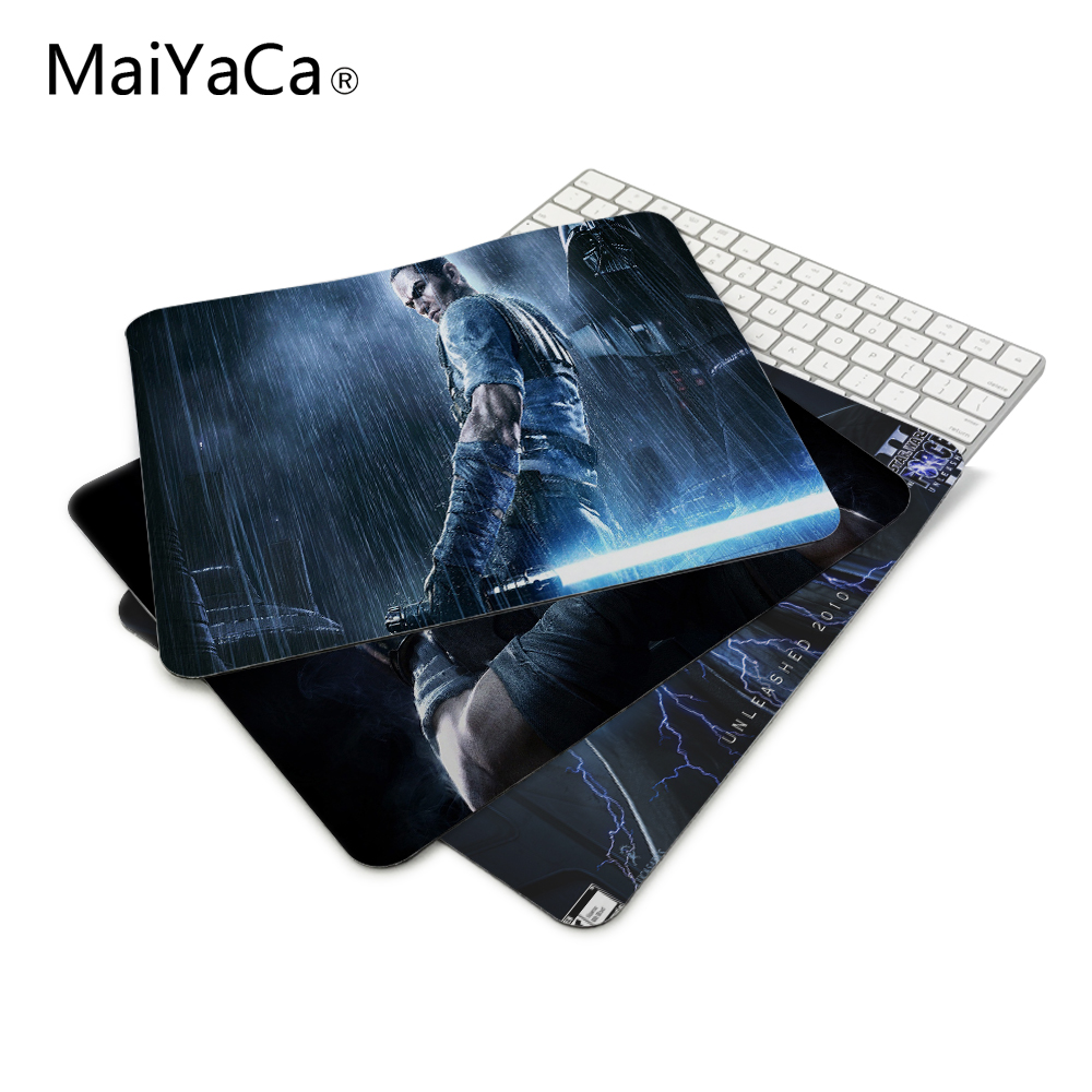 Starkiller Star Wars Force Unleashed Computer Mousepad Gaming Padmouse Gamer Mat 22 * ​​18cm og 25 * 29cm