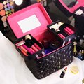Professional portable Women Makeup bag multi layer Travel Cosmetic Bag large capacity Organizer Case Necessaries Make Up Box