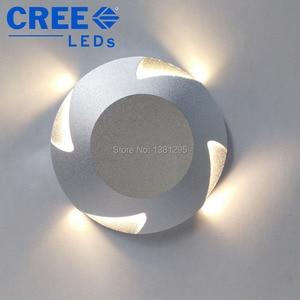 Image 4 - Luci di coperta a LED IP67 12V 24V 3W CREE incasso a pavimento scale passo parete vialetto Patio finitrice lampada sotterranea faretto esterno