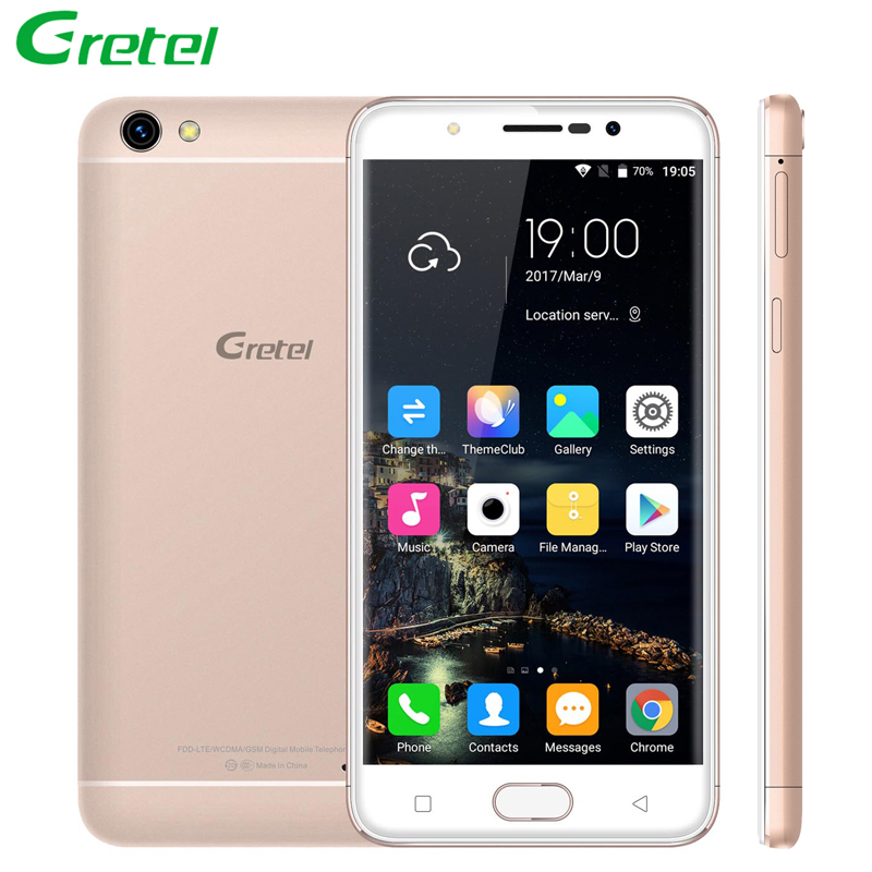 Gretel A9 Smartphone Android 6.0 2GB RAM+16GB ROM 5.0 Inch Touchscreen Quad Core 1280x720 8MP 2SIM GPS Unlocked 4G Cell Phones