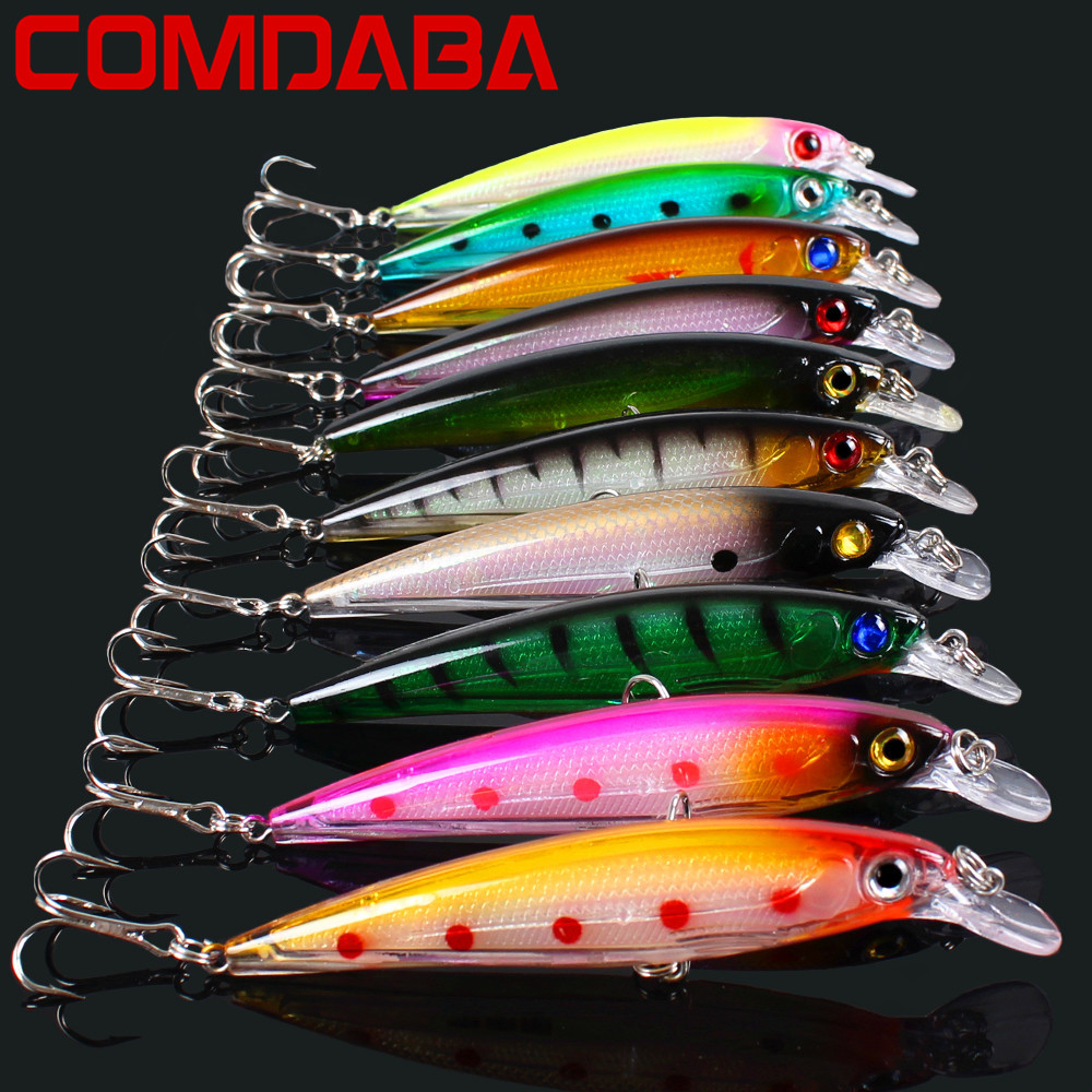 10pcs/lot 11cm/13.5g Minnow Fishing Lures Wobblers Fishing Lure Crankbait Hard Artificial Bait Trout Pink Lures 10 Colour 10pcs set sea trolling minnow 9cm 7 3g artificial bait big wobblers fly fishing lures carp peche crankbait pesca jerkbait 21