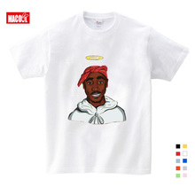 Children Tupac 2pac Hip Hop Swag Printed T-shirt Kids Baby Casual T Shirt Girls/Boys Short Sleeve Summer Tops  Girls Shirt 3T-9T children s anime my neighbor totoro printed t shirt kids great casual short sleeve tops boys and girls cute t shirt