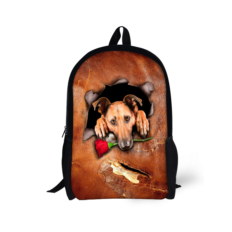 Children Primary School Bags 2016 Fashion Animals Backpack for Kids Boys and Girls Mochila Escolar Schoolbag for Child Students